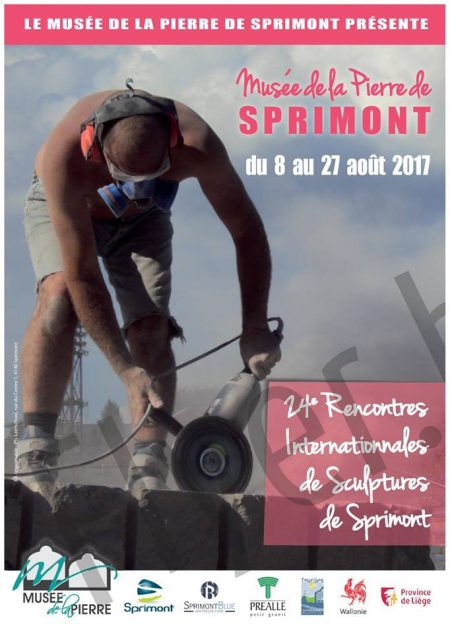 Internationaal symposium voor de beeldhouwkunst in Sprimont (B)
