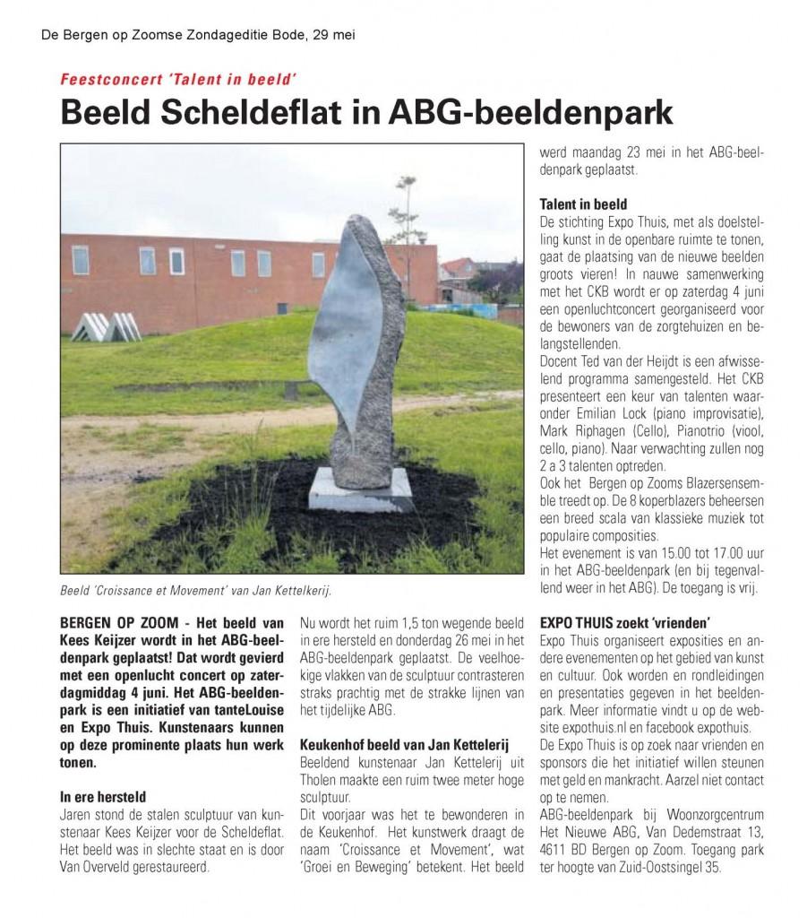 beeld Keukenhof naar Bergen op Zoom